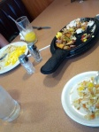 Lunch on the drive home - Denny's.  Makes me miss Waffle House.